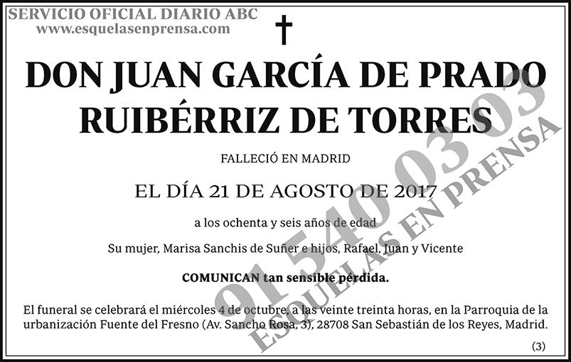 Juan García de Prado Ruibérriz de Torres